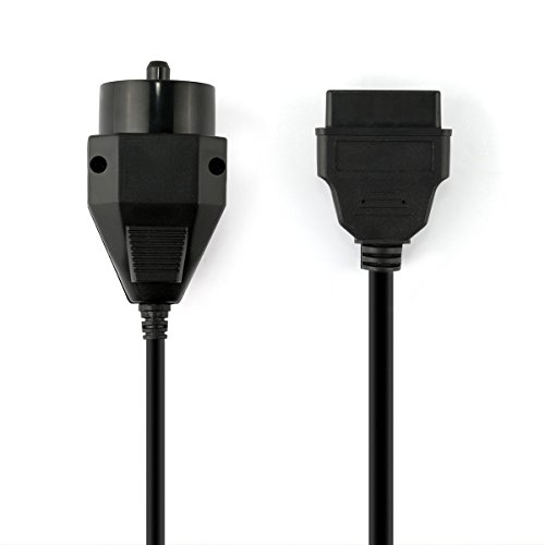 FOXWELL Obd2 Female to 20pin Extension Convert Adapter OBD1 to OBD II Cable (11 Inch) by FOXWELL (Image #1)