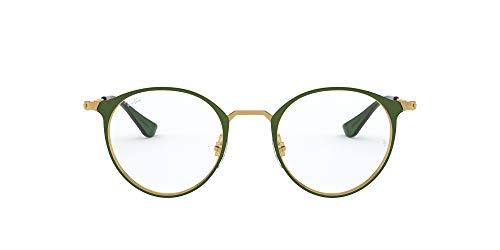 Ray-Ban Rx6378 Metal Round Prescription Eyeglass Frames