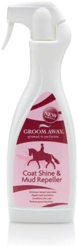 Novio Away-Repelente de perchero de pared de caballo Shine & Mud x 1Lt