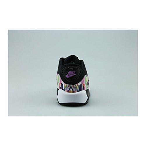 Nike 833499-001, Zapatillas de Trail Running para Niños Negro (Black / Hyper Violet-Hyper Violet)