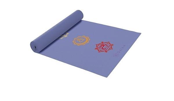 Amazon.com: Gaiam 68 in. Chakra Yoga Mat (3mm): Health ...