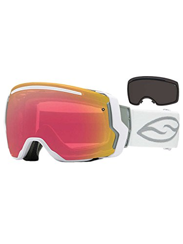 Smith Optics I/O7 Vaporator Series Snocross Snowmobile Goggles Eyewear - Sage Metatron/Green Sol-X/Red Sensor / Medium by Smith Optics