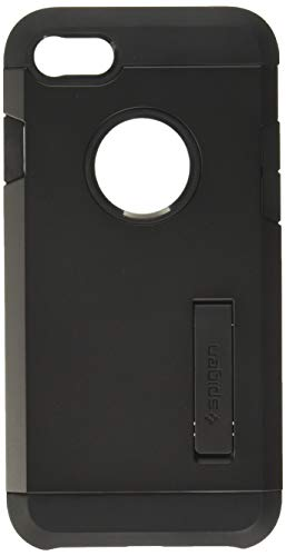 Spigen Tough Armor [2nd Generation] Designed for Apple iPhone 8 Case (2017) / Designed for iPhone 7 Case (2016) - Black