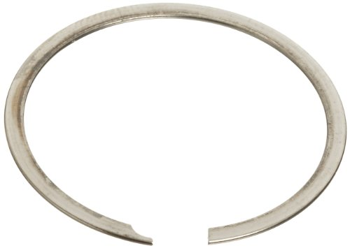 [해외]표준 외부 고정 링, 나선형, 축 어셈블리, 302 스테인리스 스틸, 부동 태성 피니시, 7 8 축 직경, 0.021 두꺼운, 미국 제/Standard External Retaining Ring, Spiral, Axi
