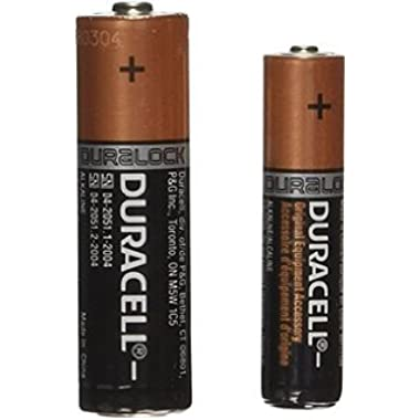 Duracell Coppertop 20 AA & 20 AAA Batteries + Free Storage Clam Shell!