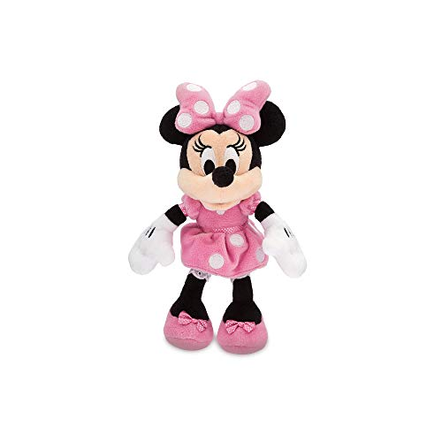 (Disney Minnie Mouse Plush - Pink - Mini Bean Bag - 9 1/2 Inch Multi)