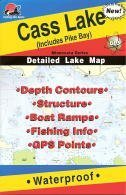 Fishing Hot Spots Map of Cass Lake