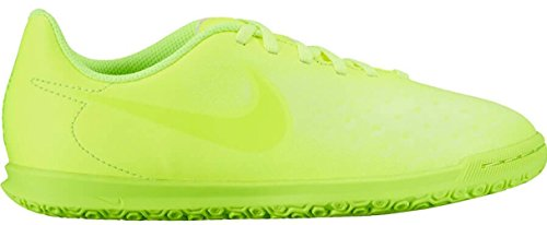 Nike Kids' Jr. Magista Ola II IC Indoor Soccer Shoe (Sz. 3Y) Volt - Indoor Soccer Girls Nike