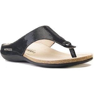 Mephisto Women's Agacia Walking Shoes,Black Disco,12 M US