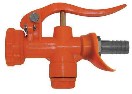 Water Nozzle, Indust Grade, Safety Orange