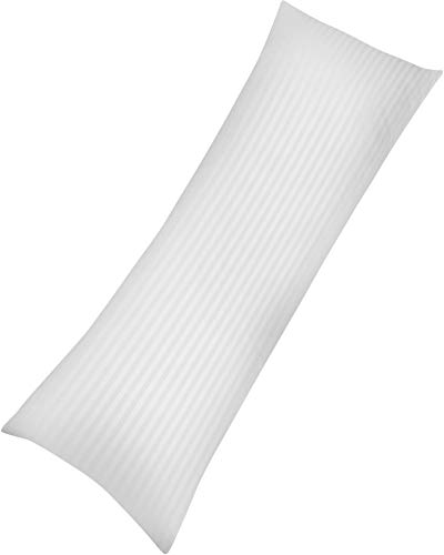 Utopia Bedding Soft Body Pillow - Long Side Sleeper Pillows for Use During Pregnancy - 100% Cotton Cover with Soft Polyester Filling (Single Pack) (Pillow 60 Inch Bolster)