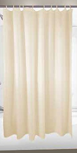 Premier Faucet 2473262 Hotel Nylon Shower Curtain, 6 by 6-Feet, - Curtain Hotel Shower Nylon