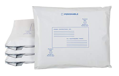 4 Pack Self-Expending Foam Insulated Mailers 9 x 11. Thermal Shipping Envelopes. Self Sealing Insulated Envelope for Fragile, perishable Items. Eco Friendly Solution for mailing, Shipping, Packing.