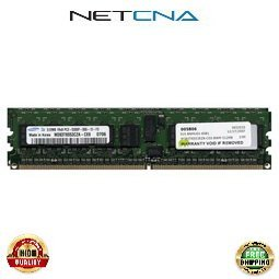 Registered 667 Memory Kit (DELL-1GB-DDR2-667R 1GB (2x512MB) Dell PC2-5300 DDR2-667 240-pin Registered ECC SDRAM DIMM Memory Kit 100% Compatible memory by NETCNA USA)