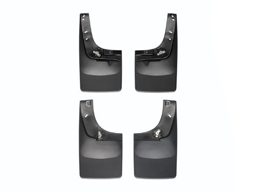 F250 Ford Flaps Mud (WeatherTech 110020-120020 Mud Flap for 2011-2016 Ford F-250/F-350 No Dually No Fender Flares)