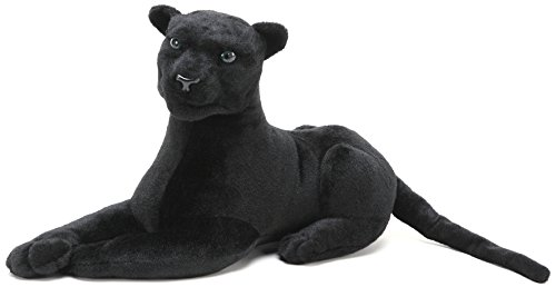 Girls Sassy Cat Animal Costumes (Sid the Panther | 20 Inch Stuffed Animal Plush Cat | By Tiger Tale Toys)