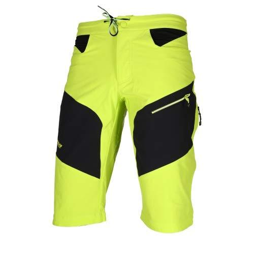 Corti Uomo Crossflex Ciclismo S Da Platzangst Pantaloncini Gelb Gelb EvCwq
