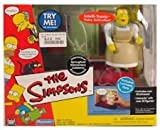 Playmates - The Simpsons - World of Springfield Interactive Environment (Playset) - Springfield Elementary Cafeteria w/exclusive LunchLady Doris figure and custom accessories.