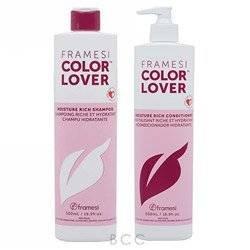 Framesi Color Lover Moisture Rich Shampoo & Conditioner Duo Set 16.9 fl oz. bottles