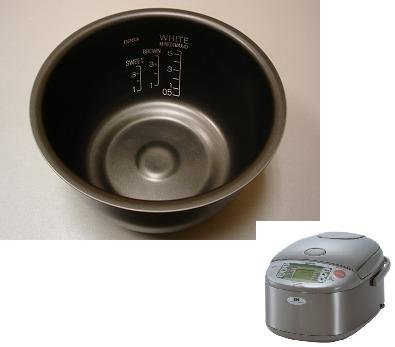 Zojirushi Original Replacement Nonstick Inner Cooking Pan for Zojirushi NP-HBC10 / NP-KAC10 5-Cup Rice Cooker