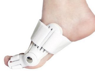 Corrector flexible de juanetes 2Fit® para pulgar del pie. Férula
