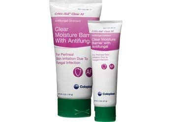 Critic-Aid Clear Antifungal Ointment, Criticaid Clr Af Moisture Br, (Net WT. 5 oz.) Critic Aid Skin Paste Case