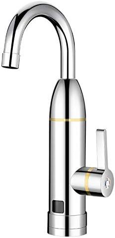 蛇口ホット冷たいデュアルユースタンクレス水を加熱するインスタントタンクレス電気温水ヒーターの蛇口キッチン瞬間はすぐにLEDディスプレイでタップを加熱します