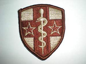 US Army Reserve Medical Command Patch - Desert by HighQ Store