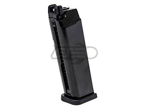 WE G-Series 25 rd. Gas Pistol Magazine (Black) Black Gas Pistol