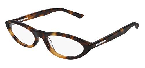 Balenciaga BB0031O Eyeglasses 002 Havana-Havana 53mm