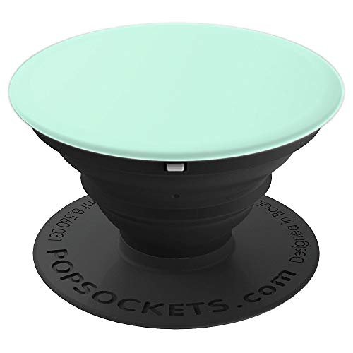 Light Mint Sea foam Green Solid Color Phone Popper - PopSockets Grip and Stand for Phones and Tablets