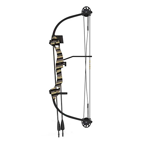 Barnett Tomcat 2 Youth Compound Bow, Age 8-12, 17-22lbs, Mossy Oak Bottomland