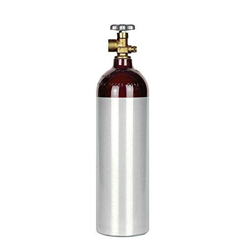 Aluminum Beverage - New 22 cu ft Aluminum Nitrogen Cylinder with CGA580 Valve