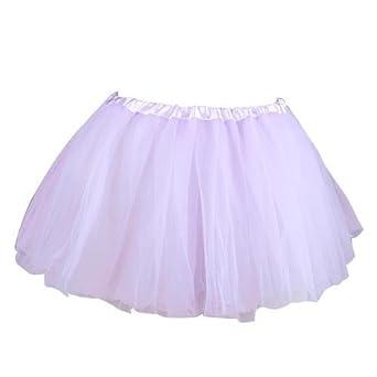 Gleader Tutu/Falda De Tul Violeta Ligero Disfraz Bailarina Ballet ...