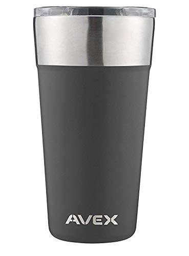 Avex, Brew Pint Glass, 20oz, Slate