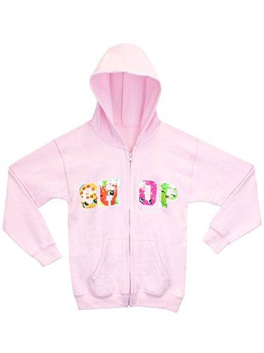 Hoody Zip Girls Sweatshirts (Shopkins Girls Hoody Shopkins Hoodie Size 4)