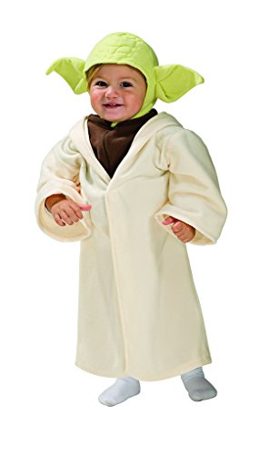Yoda Costumes For Toddlers (Jedi Master Yoda Toddler Costume Star Wars Fits sizes: 2-4 (1-2 years))