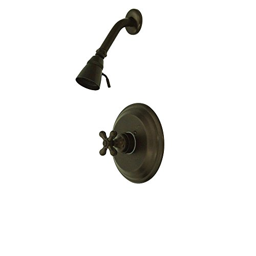 Kingston Brass KB3635AXSO Vintage Tub and Shower Faucet, 7-1/2-Inch, Oil Rubbed ()