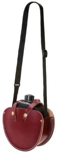 Weaver Leather Canteen Holster, Burgundy