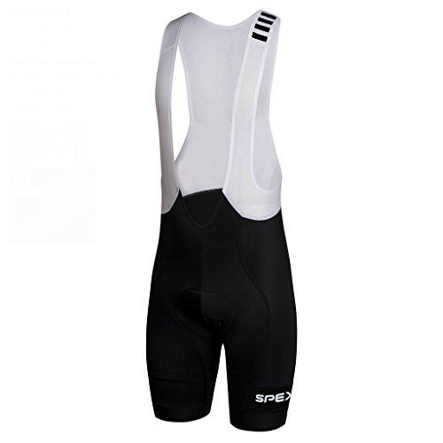 Pro Race Bib (SPEXCEL Pro Team Profession Race Cycling Bib Shorts Lightweight bib Bottom With High-density Pad For Long Time Ride (L))