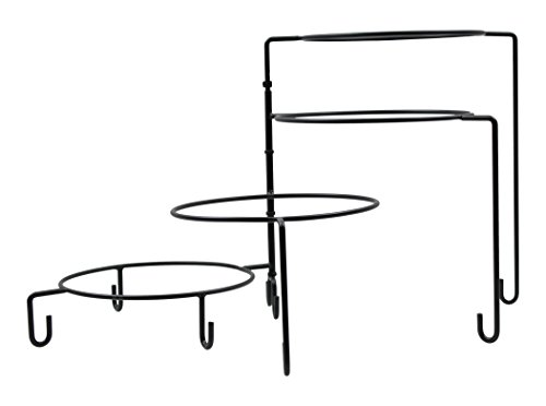 (TableCraft Products BKP4 Stand, 4 Tier, 14.5