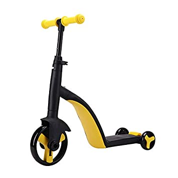 Piarrow 3-in-1 Convertible Tricycle, Balance Bike, Kick Scooter for Kids and Toddler at Age of 2, 3, 4, 5 Year Old Trike Turns Into 3 Wheel Scooter for Boys Girls