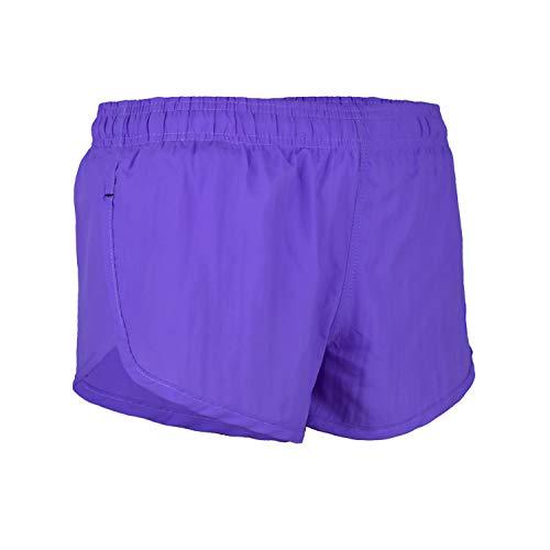 1970s Mens Short - VBRANDED Men's Basic Running Shorts Neon Purple XL
