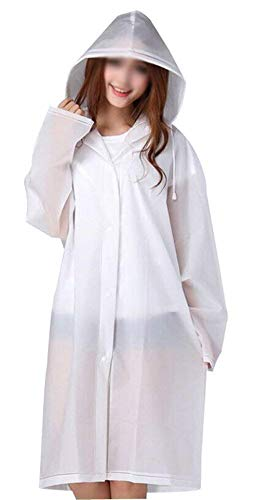 Eva Et Capuche Dame Raincoat Transparent Rain Poncho Light Portable Casual Grün Femmes Battercake Imperméable wHCnq4p