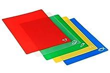 Premier Housewares 1207905 - Juego de Tablas de plástico para Cocina (5 Unidades, 30,5 x 38 cm)