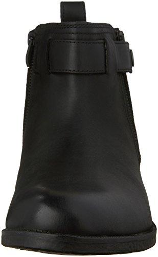 Clarks Mens Brocton Mid Black Leather