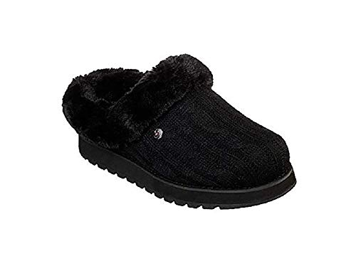 black Black Ice Keepsakes Femme Chaussons Skechers Angel w6Zvqw7