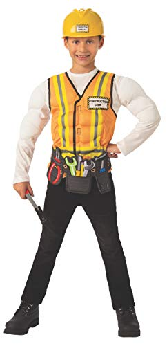 Rubie's Opus Collection Child's Construction Worker Costume, Small ()