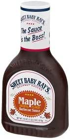 Sauces & Marinades: Sweet Baby Ray's Maple Barbecue Sauce