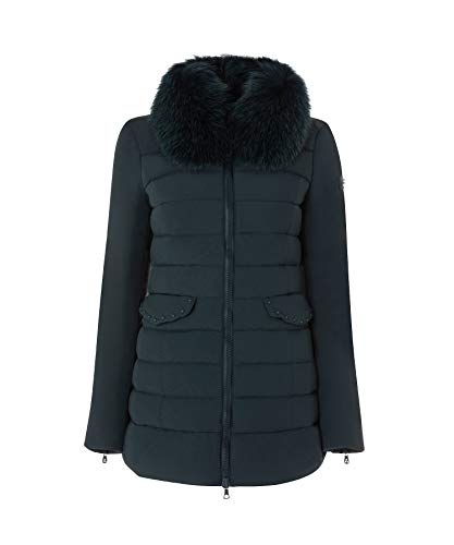 Mod Down stretch Fur E Piumino Misae Corto Bi Peuterey Ag Proof xwnfqCPTq
